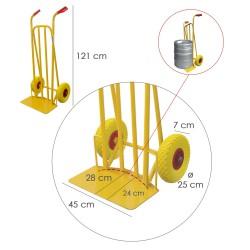 Grapadora  Metal Regulable  Nº 3 4/14mm