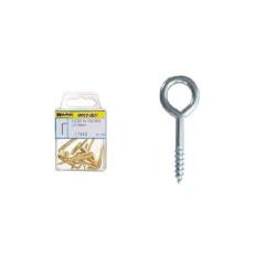 """Cepillo Acero latonado Taza          50 mm. 1/4""""."""