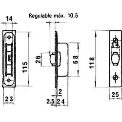 Cinta Aislante, PVC, Profesional, 25 metros x 19 mm. x 0,13 mm espesor. Color Negra.