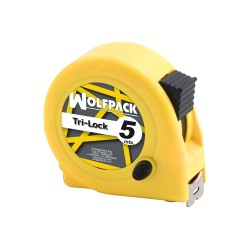 Flexometro Magnético Amarillo Con Freno  5 Metros / 19 mm.