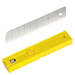 Hoja Cutter Maurer Plus 18 mm.  (Estuche 10 Piezas)