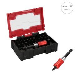 Alfombra Baño Antideslizante Stone 69x36 cm. Transparente