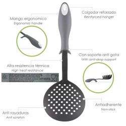 Alfombra Baño Antideslizante Stone 54x54 cm. Azul