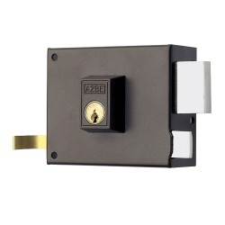 Cerradura Azbe  125-/hpr/ 8/ Derecha