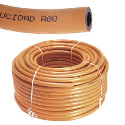 Tubo butano color naranja  9x15  Rollo 60 Metros
