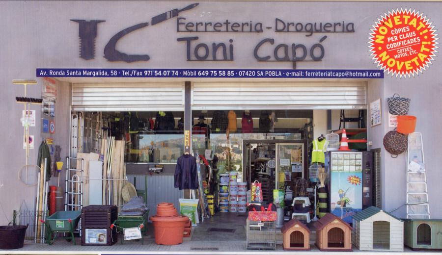 Fachada Ferretería Toni Capo